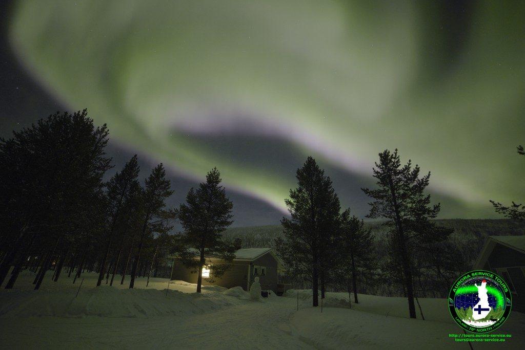 Northern Lights Holiday in Utsjoki, Lapland