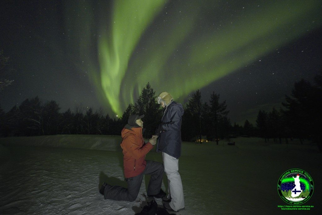 Last winter on our Asgard tours was a record winter for proposals!
