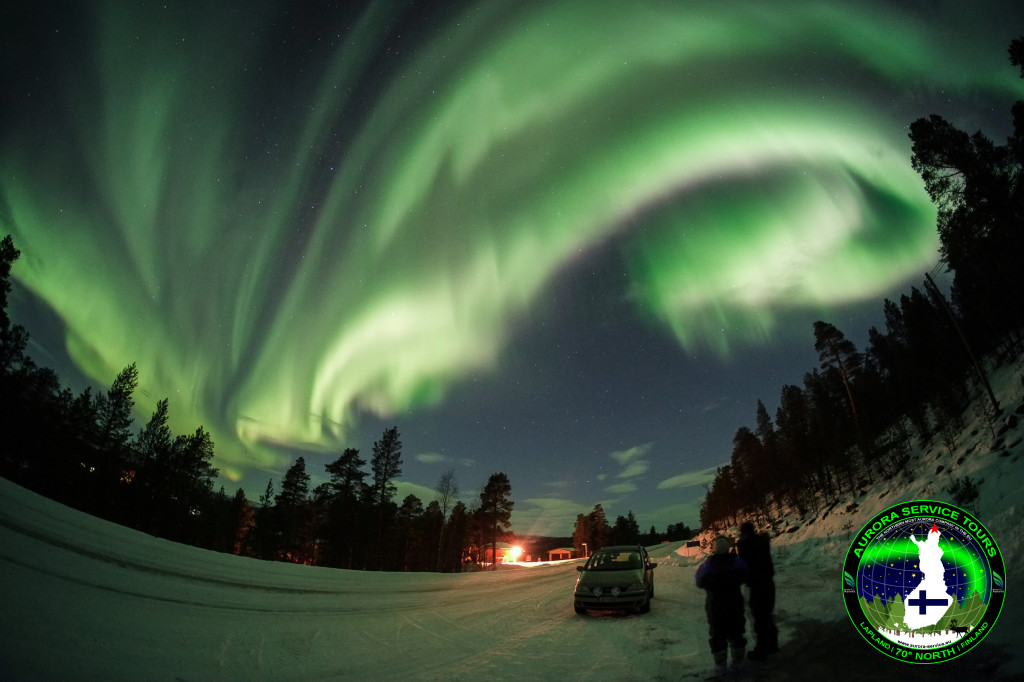 Northern Lights in Kevo, Finland