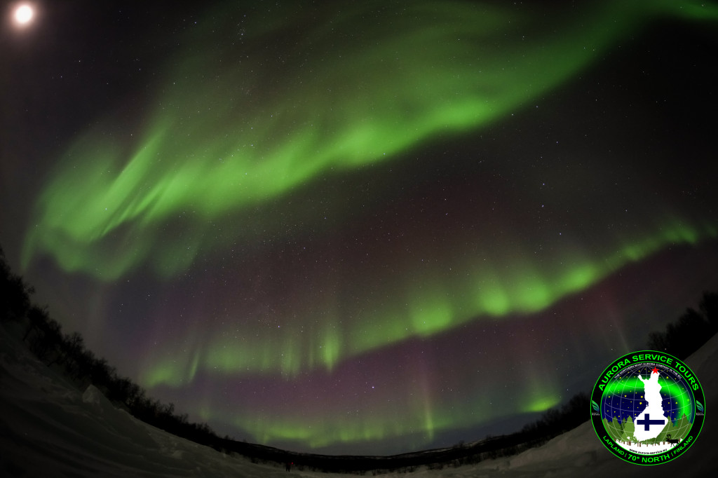 Epic Northern Lights show