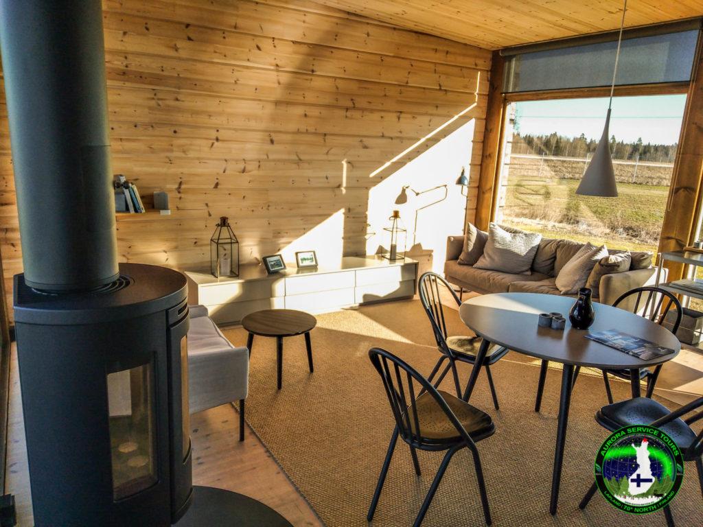 Our Midgard northern lights cottages