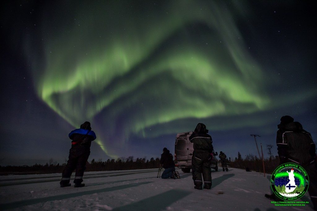 Northern Lights holiday in Ivalo, Lapland