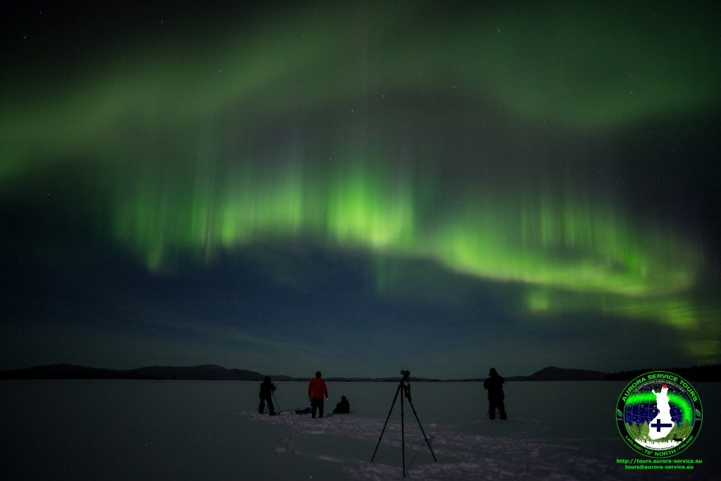 Another epic night of aurora on the lake :)
