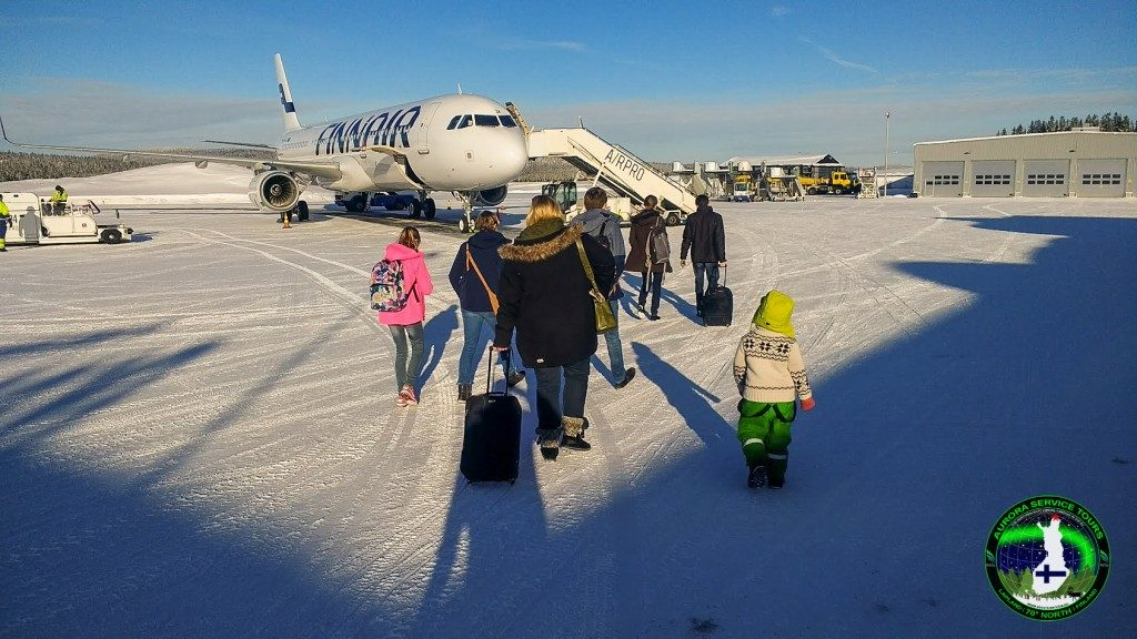 Ivalo aiport, the northern most airport in Finland